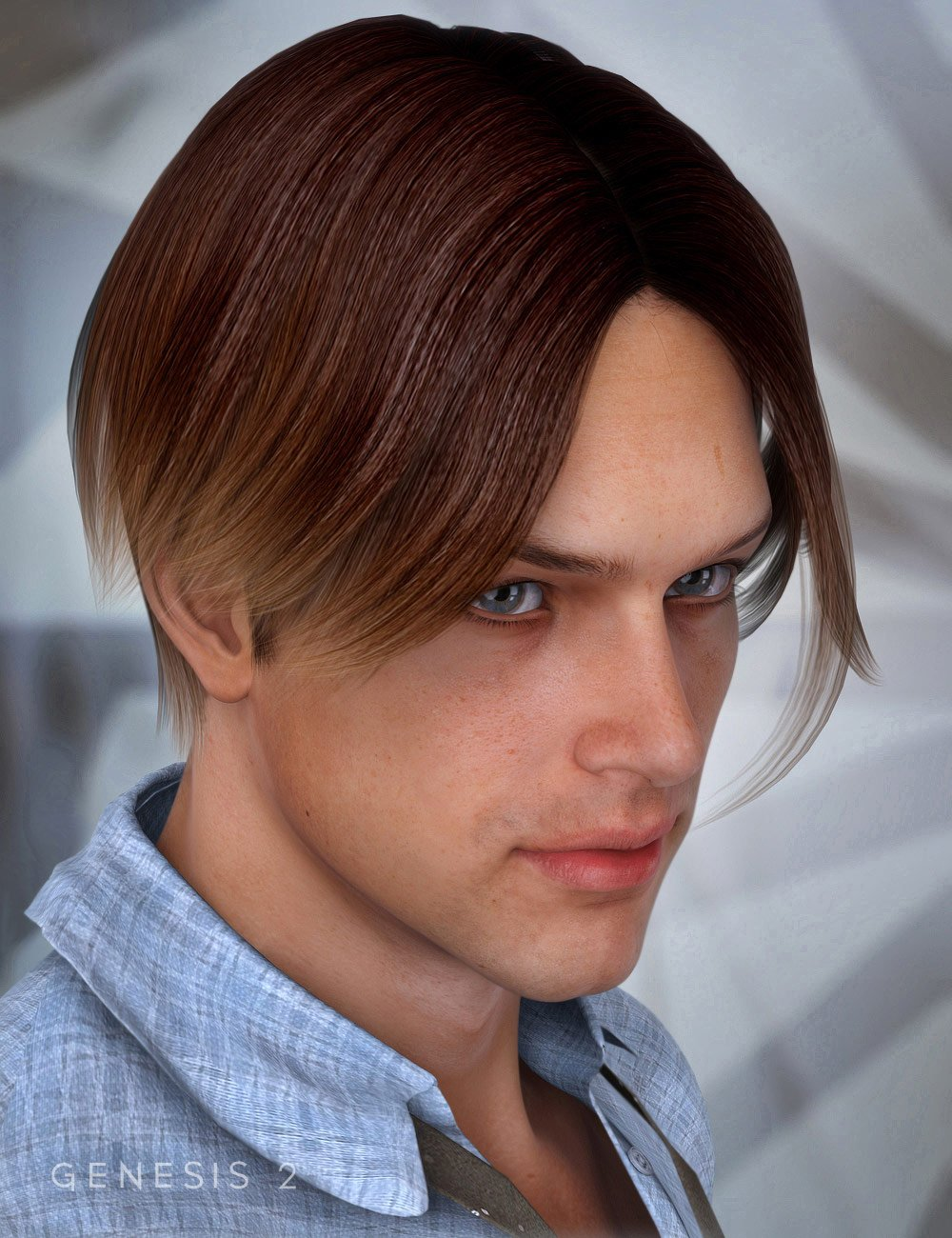Basic Hair by: , 3D Models by Daz 3D