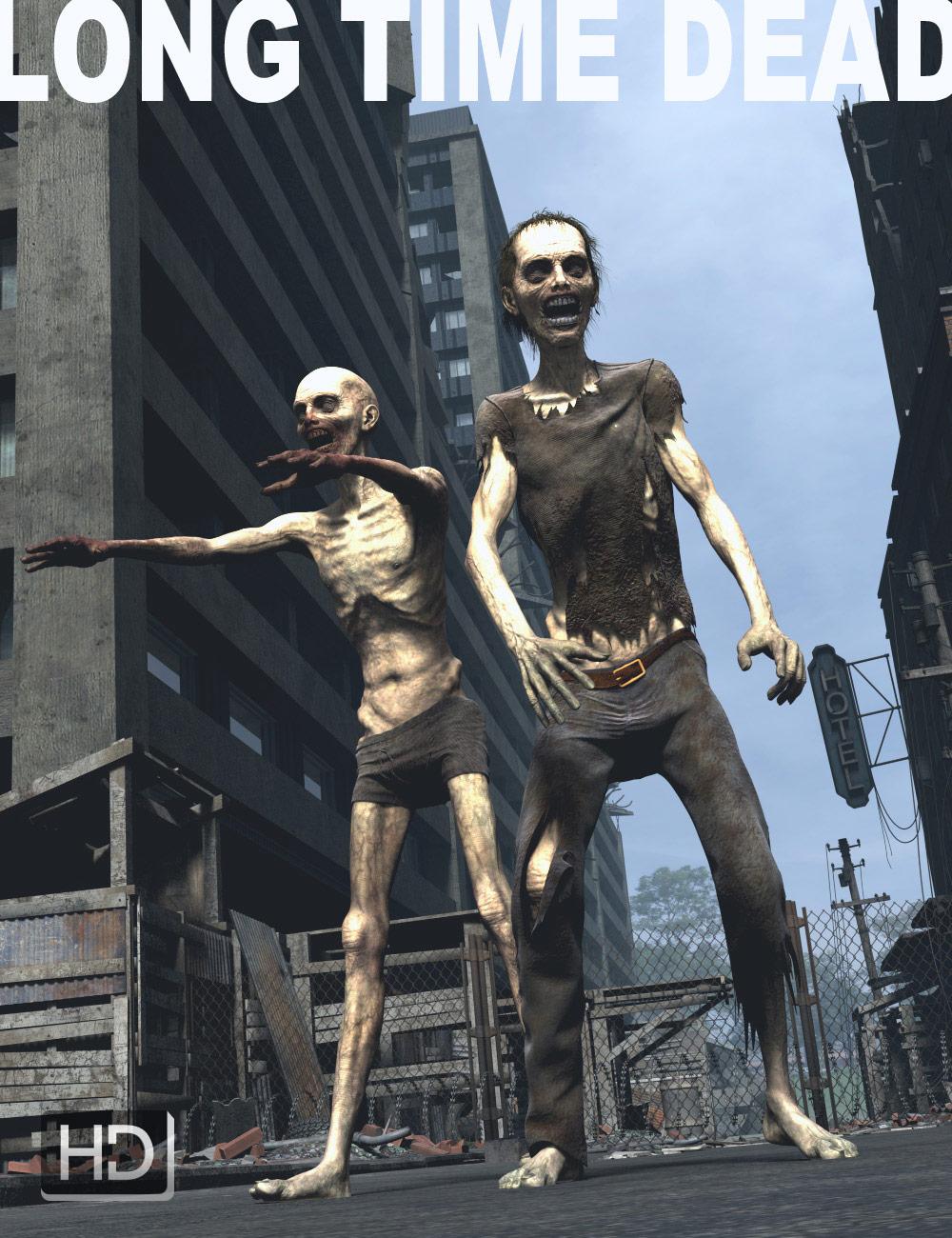 Long Time Dead HD for Genesis 2 Male by: Luthbel, 3D Models by Daz 3D