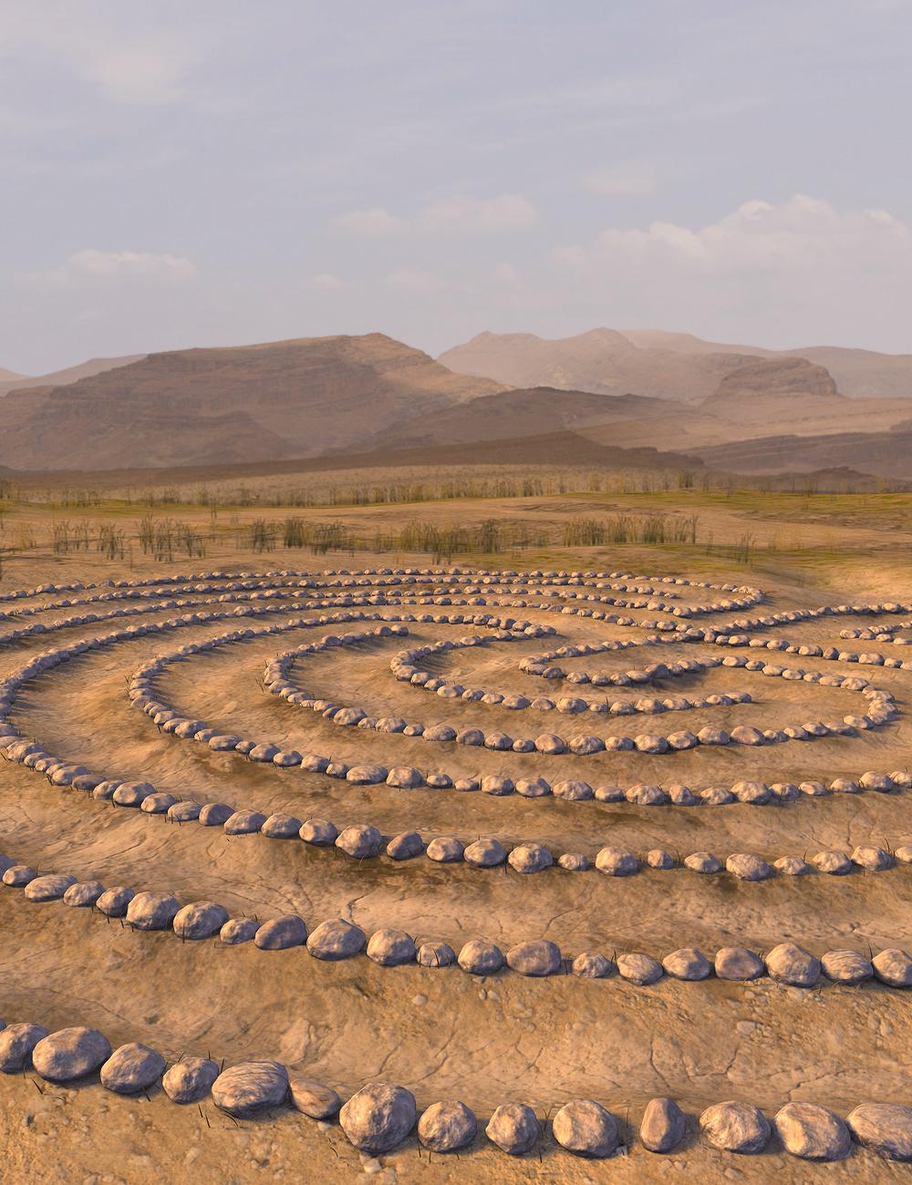 Labyrinth Circle by: SoulessEmpathy, 3D Models by Daz 3D