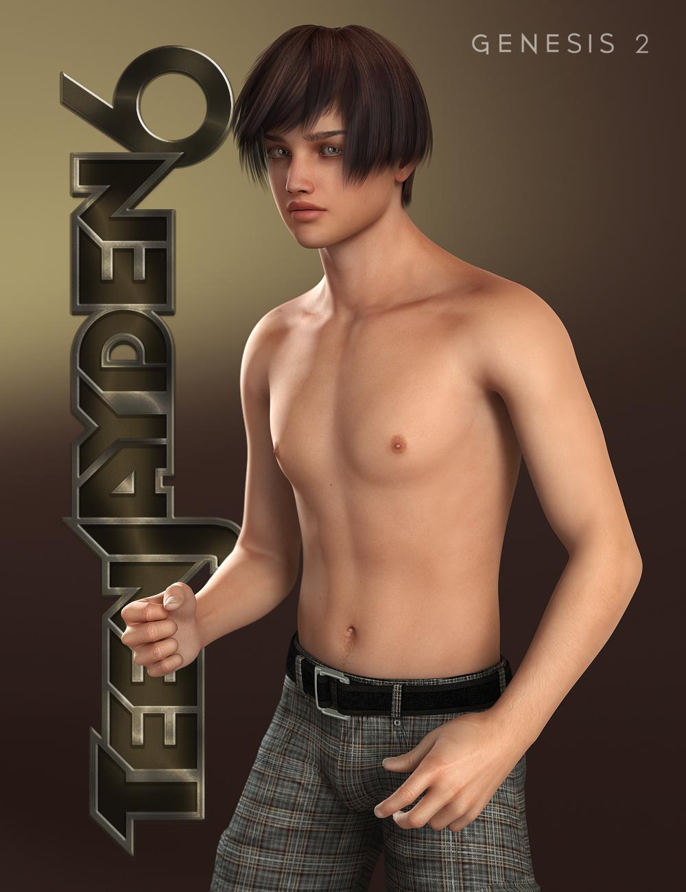 Teen Jayden 6 by: , 3D Models by Daz 3D