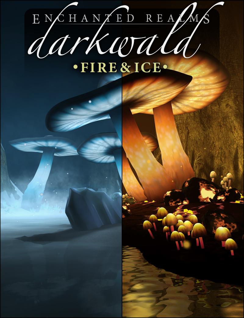 Darkwald Fire & Ice by: HowieFarkes, 3D Models by Daz 3D