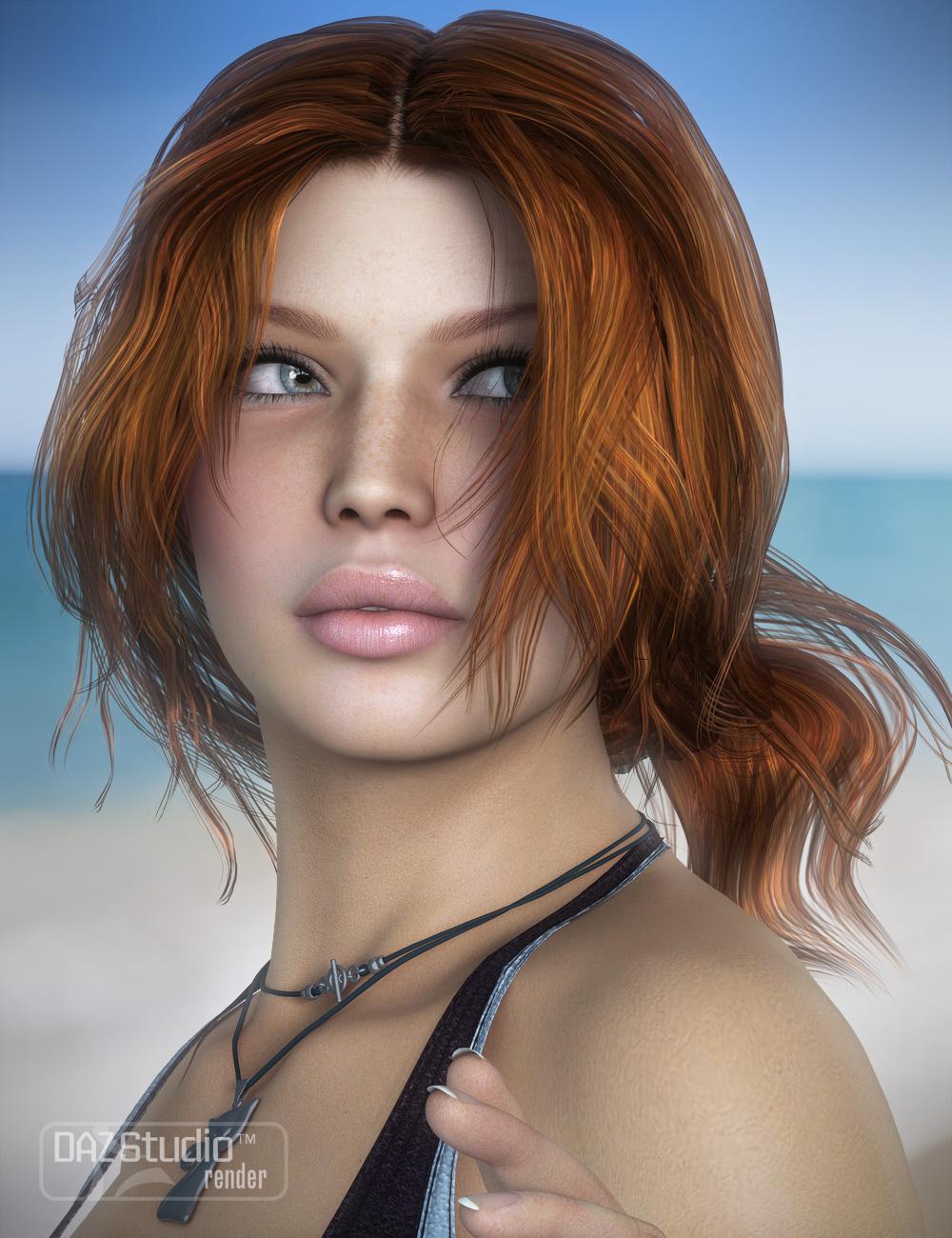 Hawthorn Hair by: goldtassel, 3D Models by Daz 3D