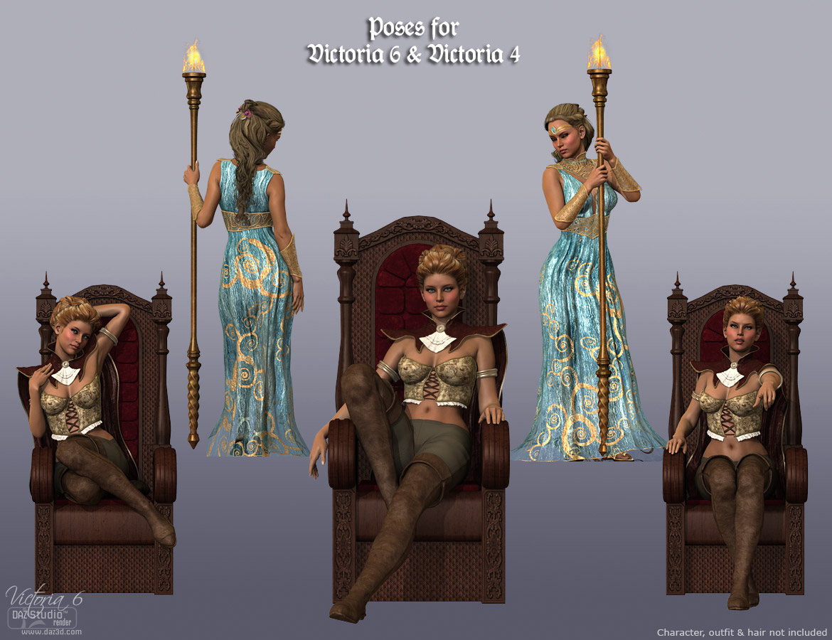 DM's Queen's Chamber Poses by: Daniemarforno, 3D Models by Daz 3D