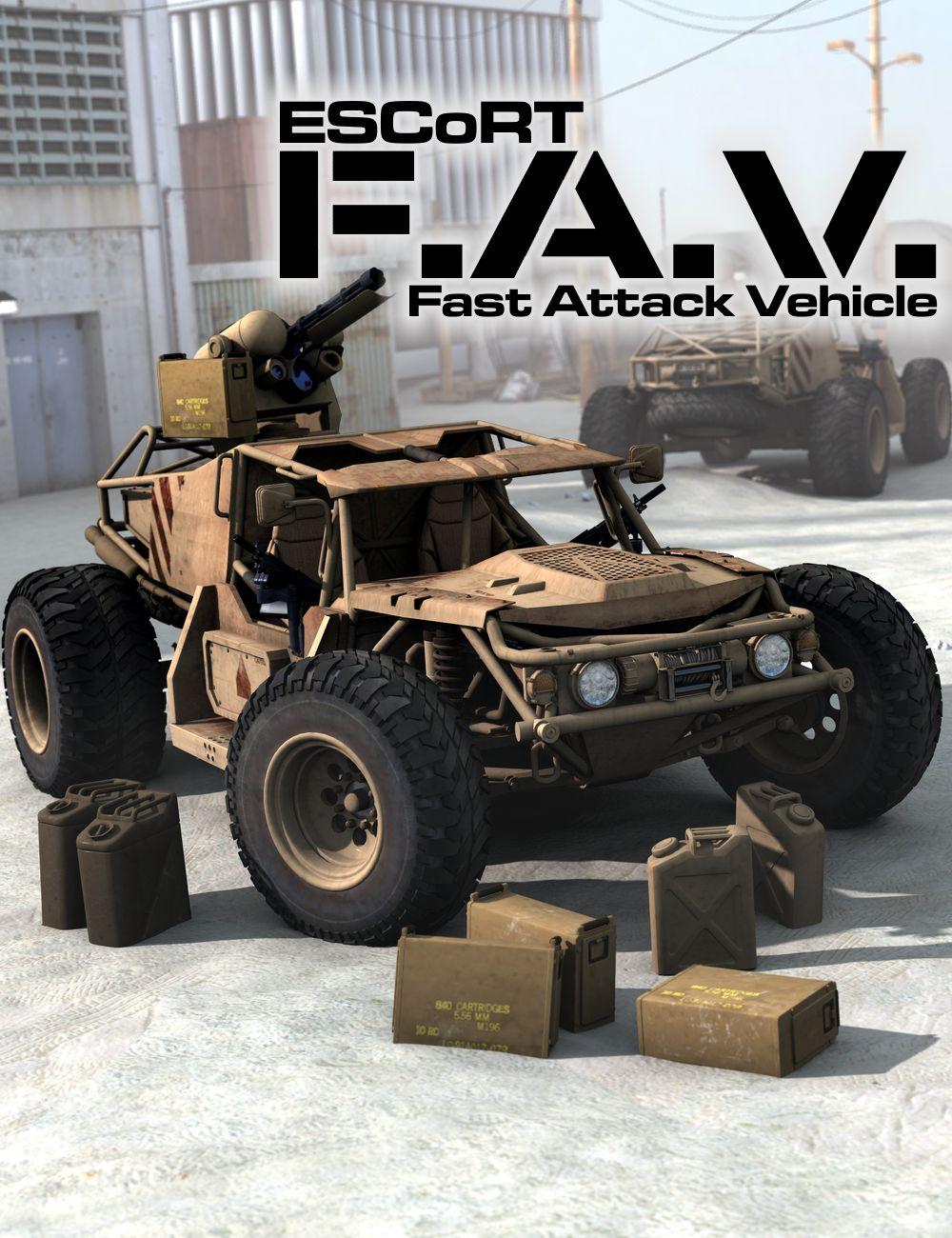 ESCoRT FAV by: DzFire, 3D Models by Daz 3D