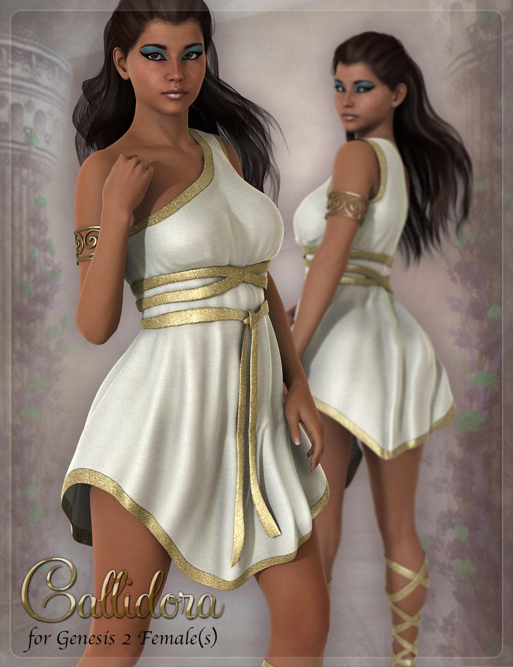 Callidora Outfit by: DemonicaEviliusJessaii, 3D Models by Daz 3D