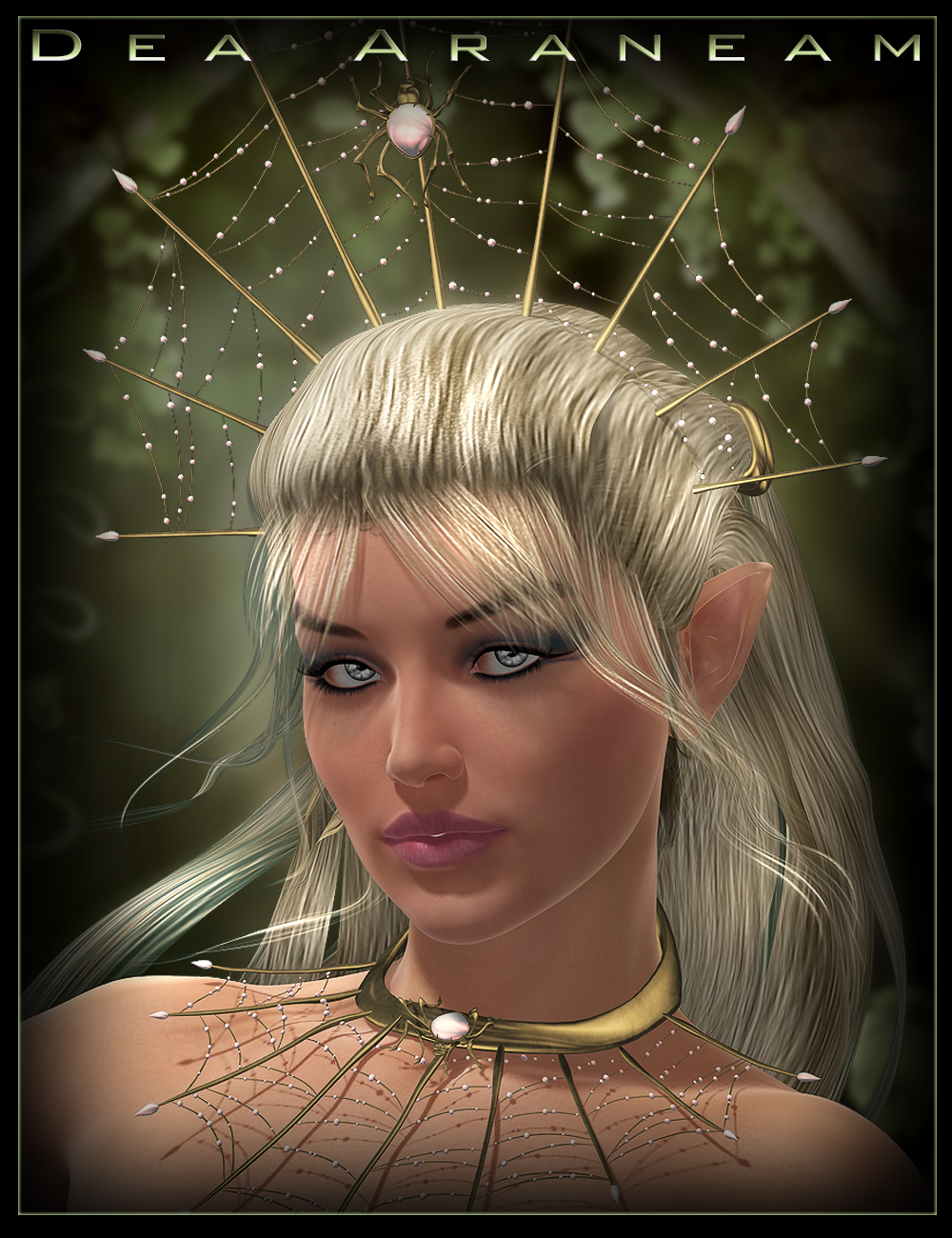 Dea Araneam Hair by: IgnisSerpentus, 3D Models by Daz 3D