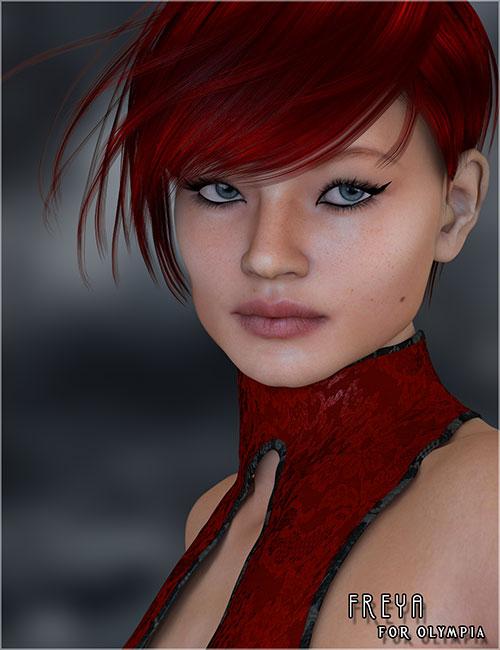 Freya For Olympia 6 by: Belladzines, 3D Models by Daz 3D