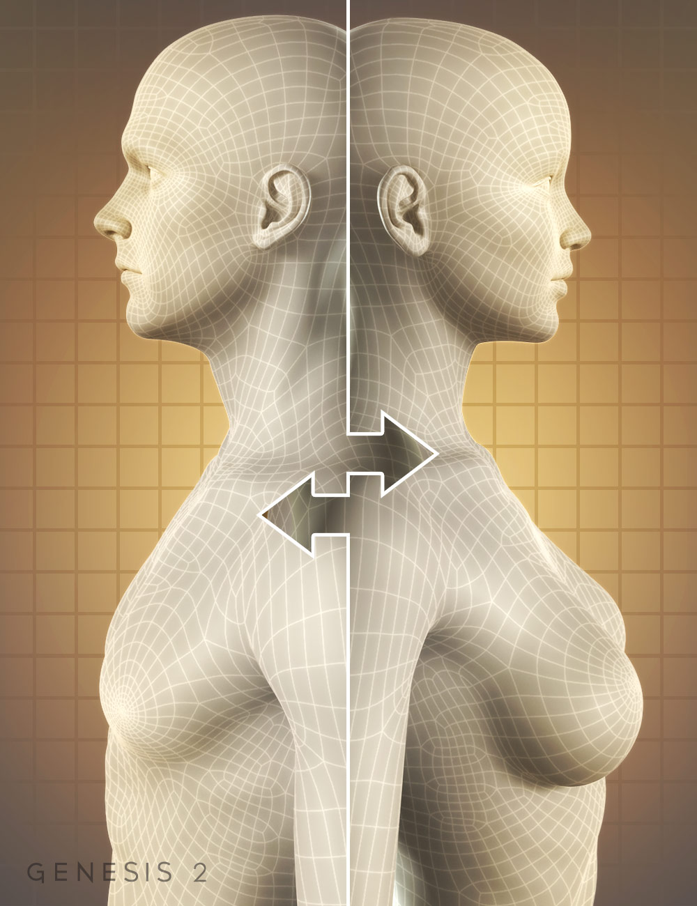 Genesis 2 Cross-Figure Resource Kit by: , 3D Models by Daz 3D