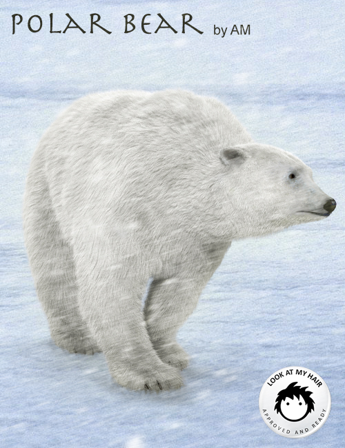 Polar Bear by AM by: Alessandro_AM, 3D Models by Daz 3D