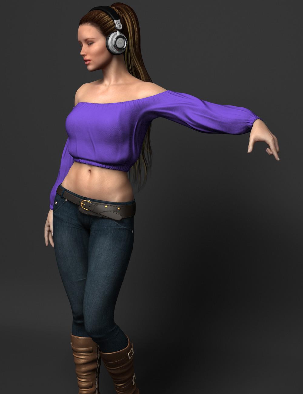 DJ Remixed by: zoro_d, 3D Models by Daz 3D