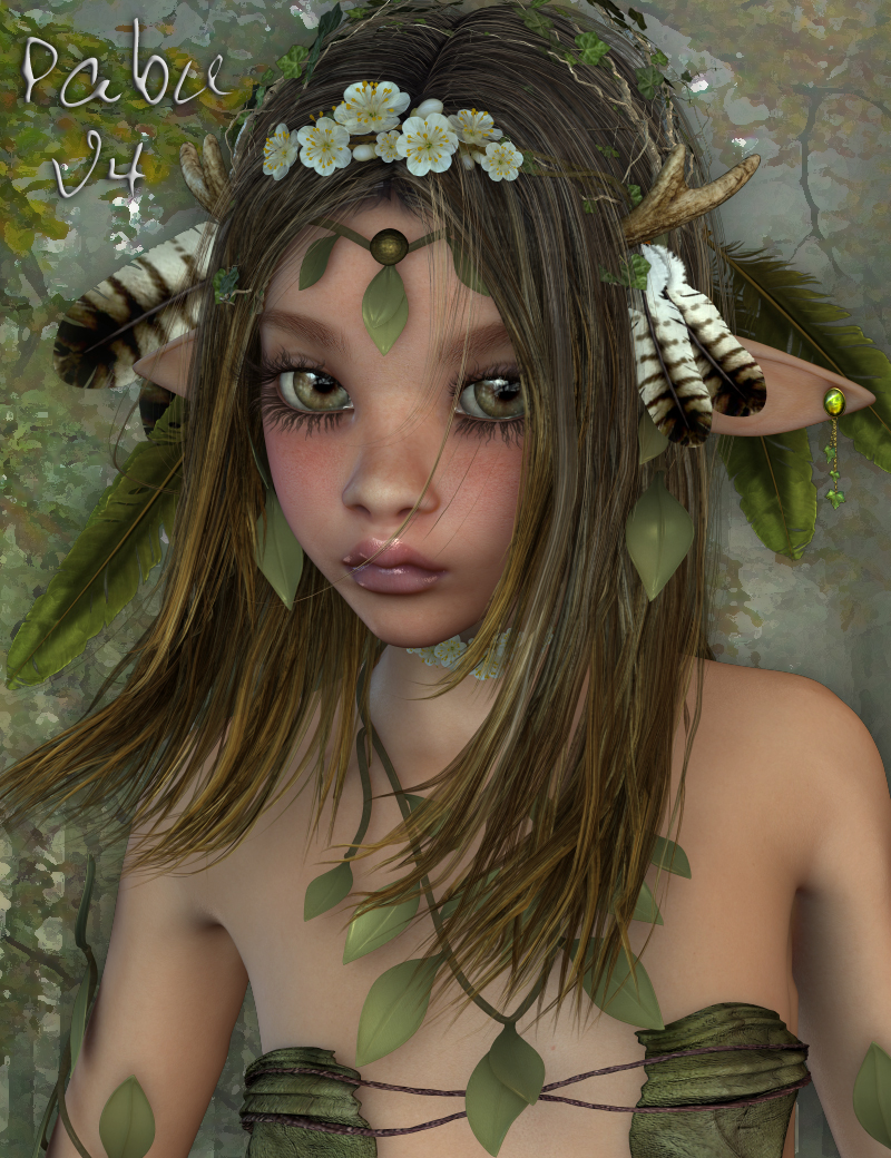 Pabu for Aiko 4 by: Thorne, 3D Models by Daz 3D