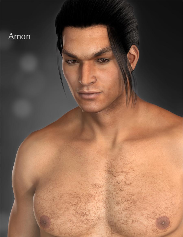 Amon for M6 by: Raiya, 3D Models by Daz 3D