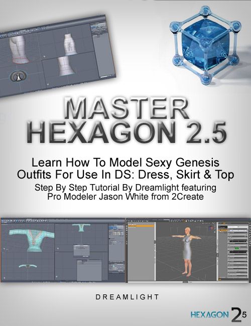 Master Hexagon - Sexy Genesis Outfits by: Dreamlight, 3D Models by Daz 3D
