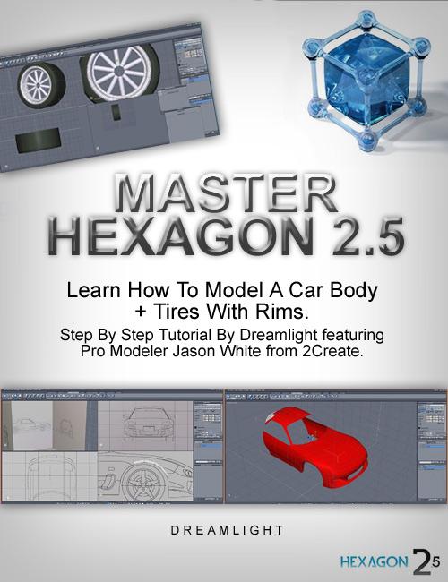 Master Hexagon - Car Modeling Basics by: Dreamlight, 3D Models by Daz 3D