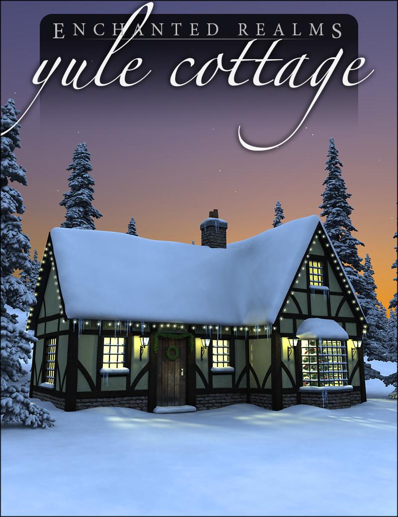 Yule Cottage by: HowieFarkes, 3D Models by Daz 3D
