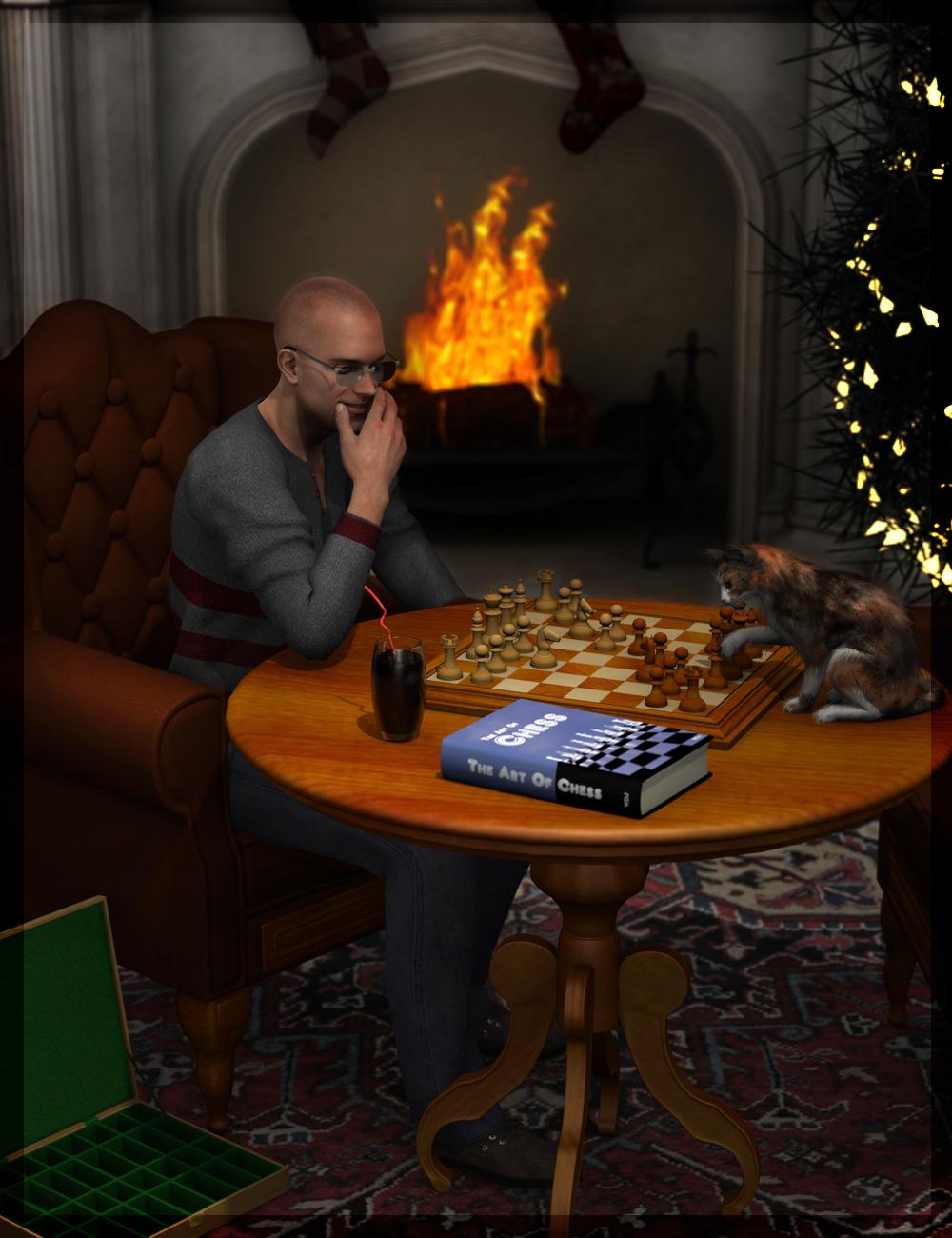 Fancy a Game of Chess by: Doctor JellybeanKhoryWee Dangerous John, 3D Models by Daz 3D