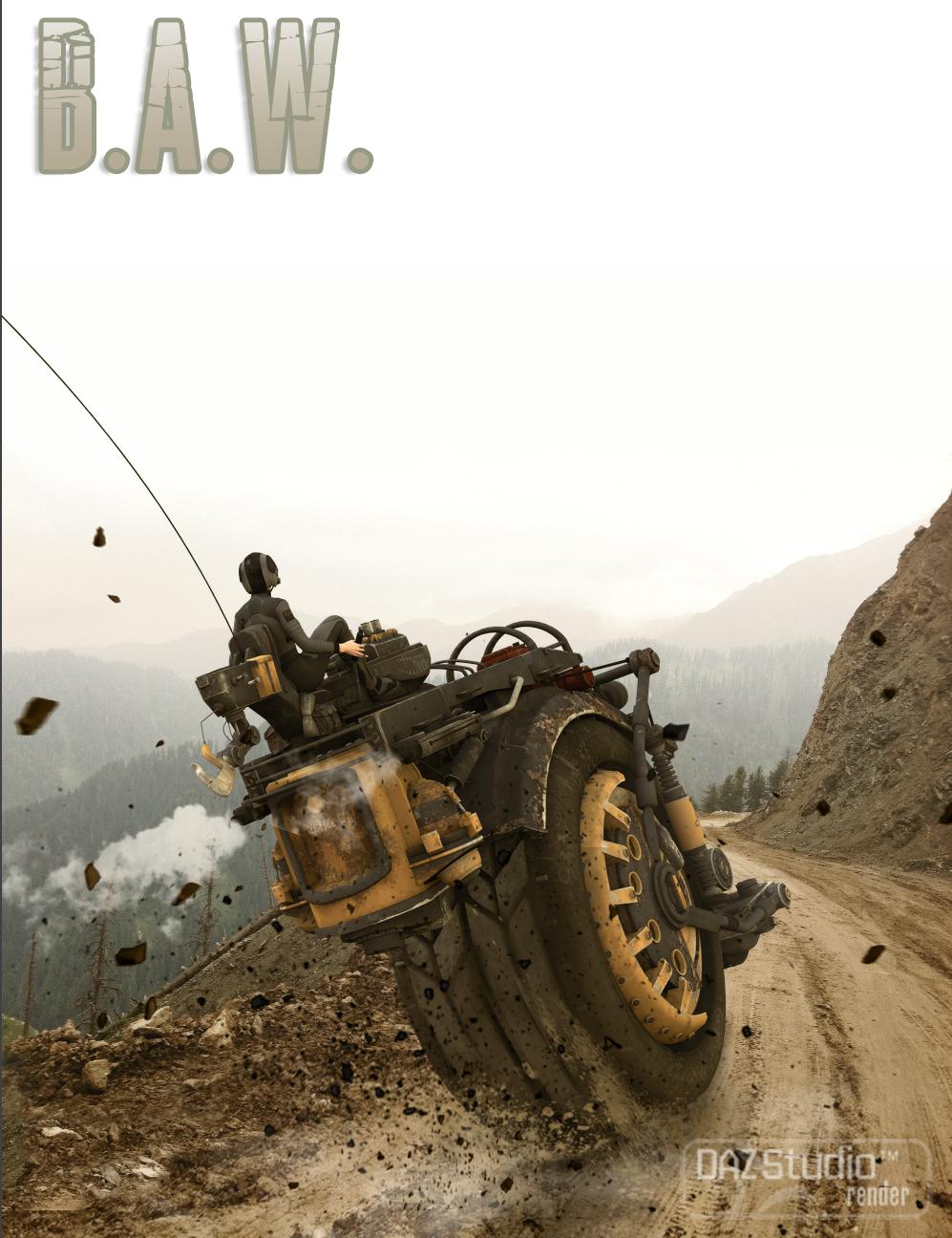 B.A.W. by: The AntFarm, 3D Models by Daz 3D