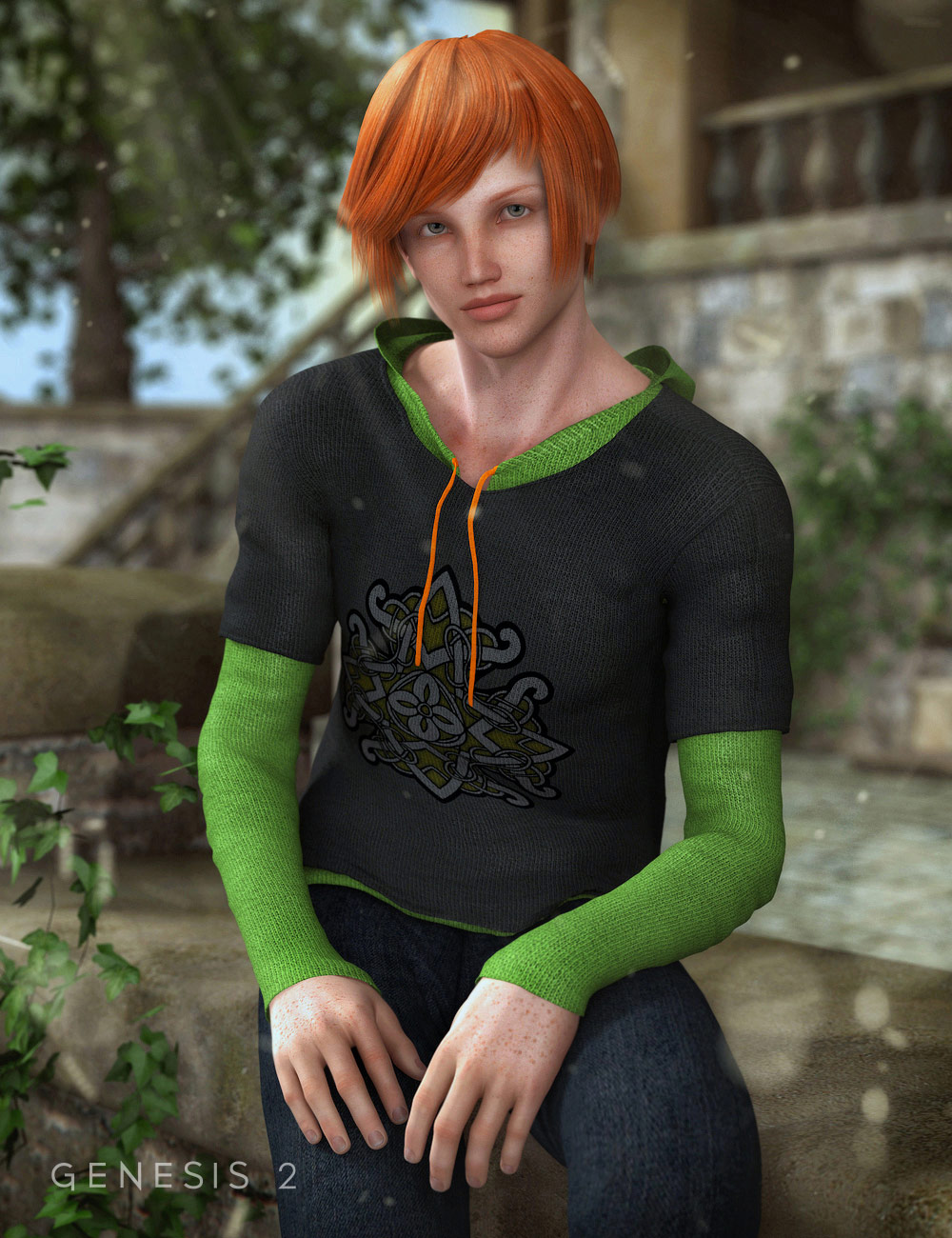 Colin by: CountessJessaii, 3D Models by Daz 3D