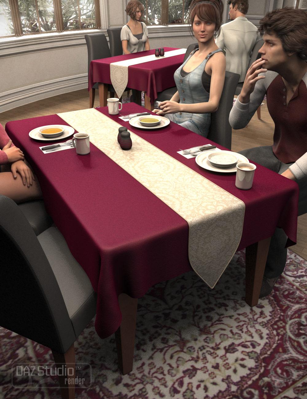 Fine Dining by: Fisty & Darc, 3D Models by Daz 3D