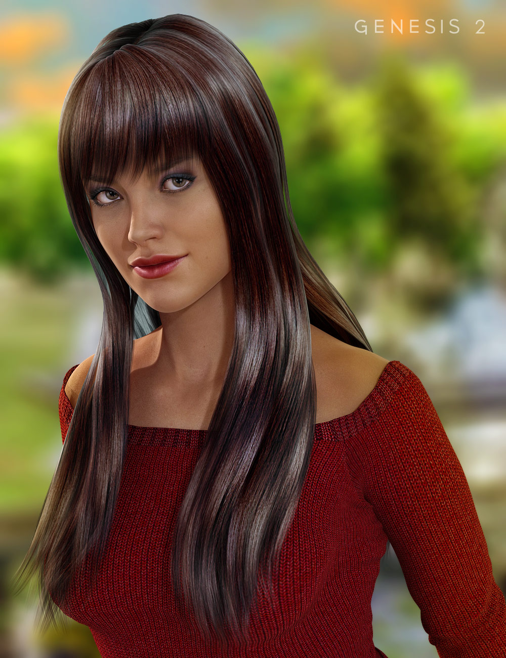 Spring Hair by: , 3D Models by Daz 3D