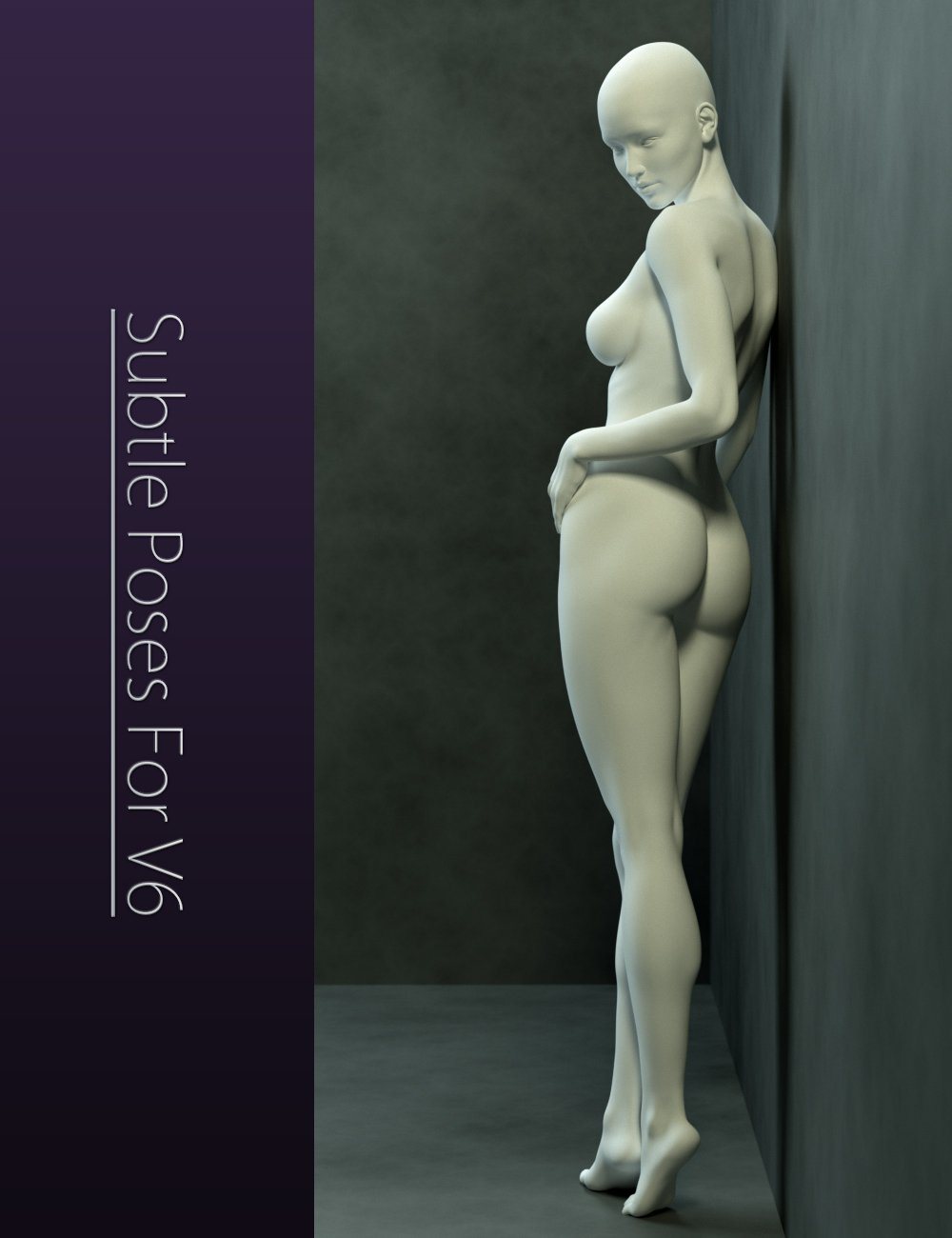 Subtle Poses for Victoria 6 by: Elele, 3D Models by Daz 3D