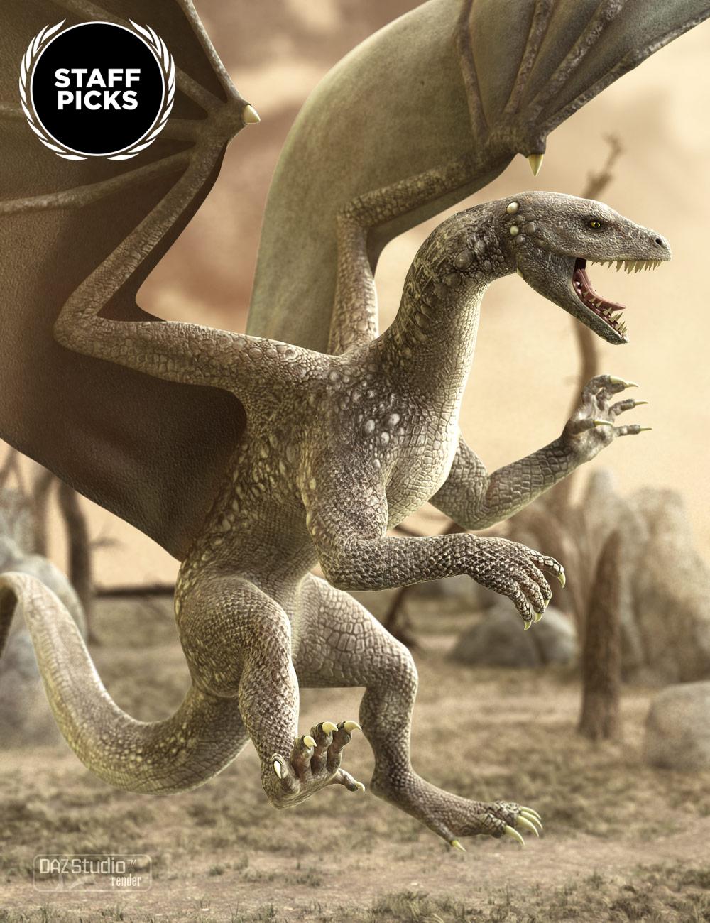 DAZ Dragon 3 by: , 3D Models by Daz 3D