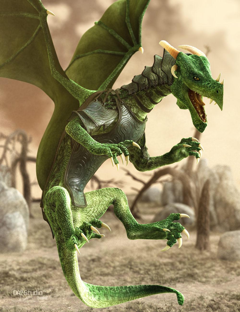 DAZ Dragon 3 Pro Bundle by: , 3D Models by Daz 3D