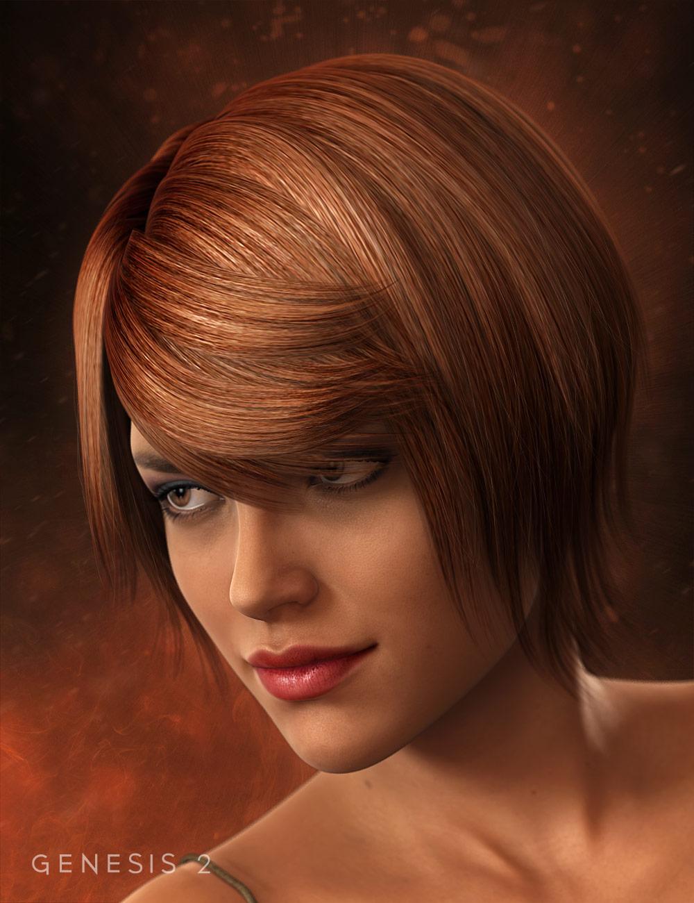 Fancy Hair by: , 3D Models by Daz 3D