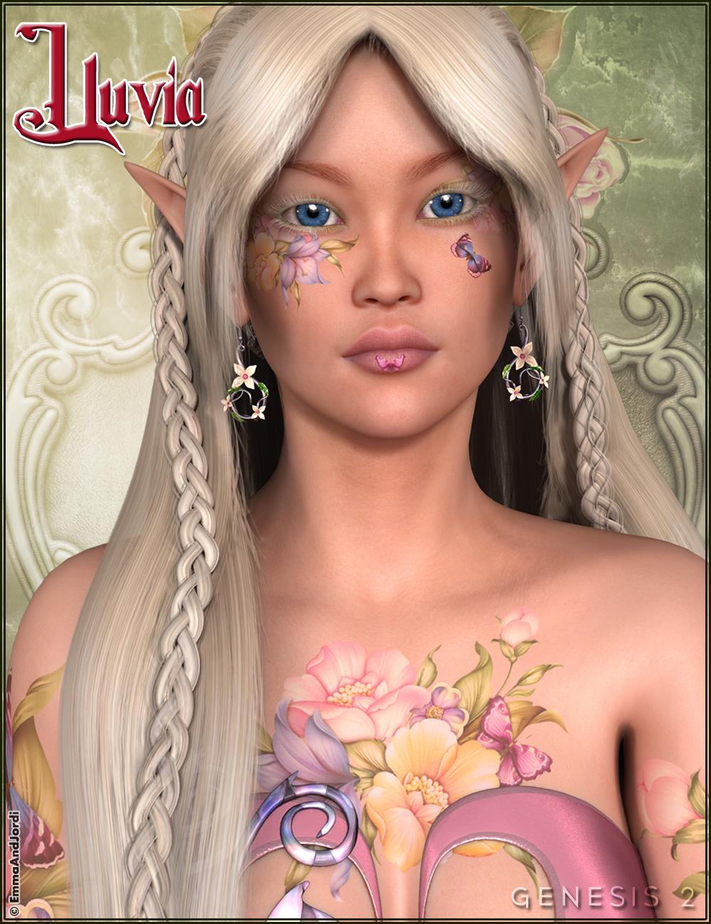 EJ Lluvia by: , 3D Models by Daz 3D