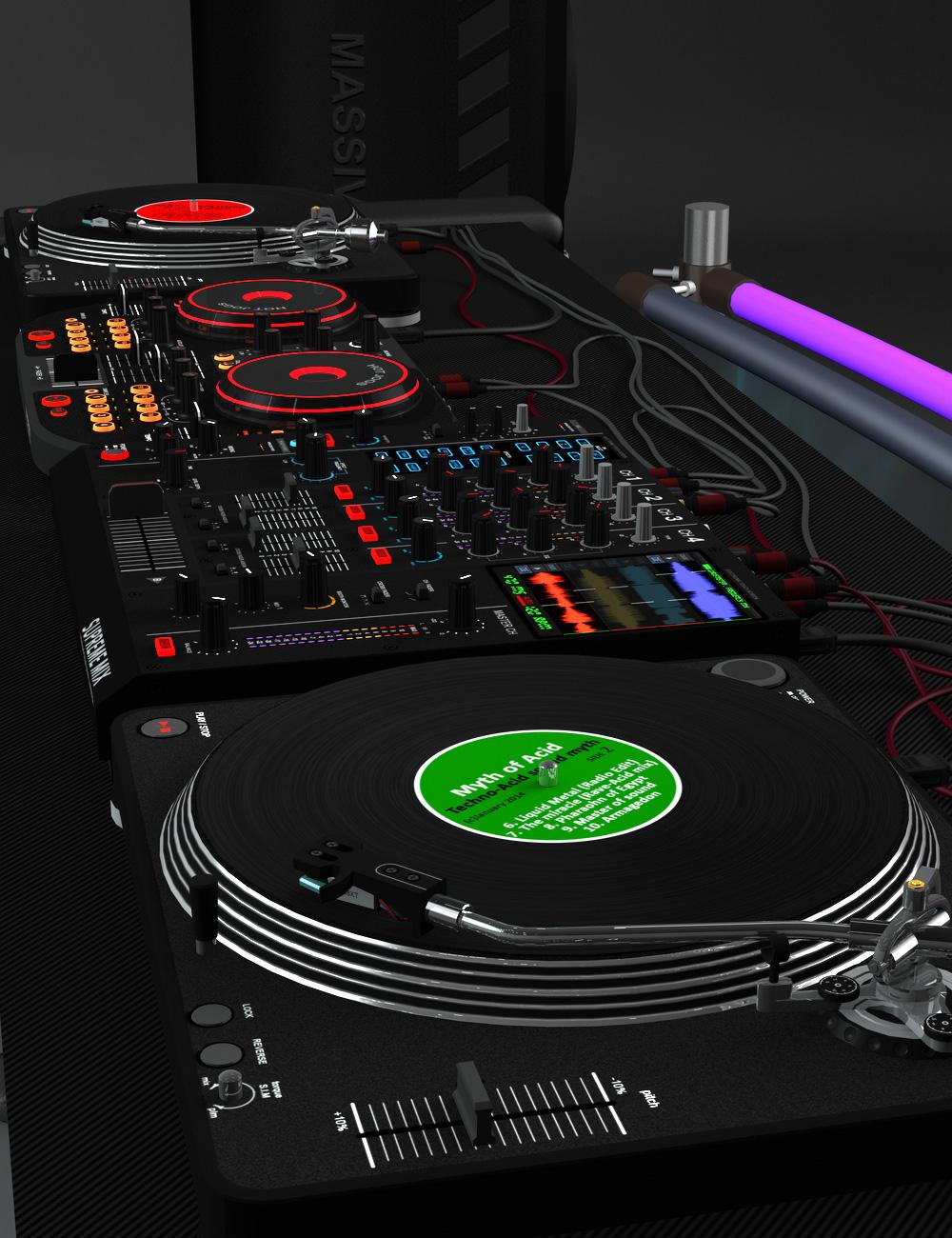 DJ-Equipments by: zoro_d, 3D Models by Daz 3D