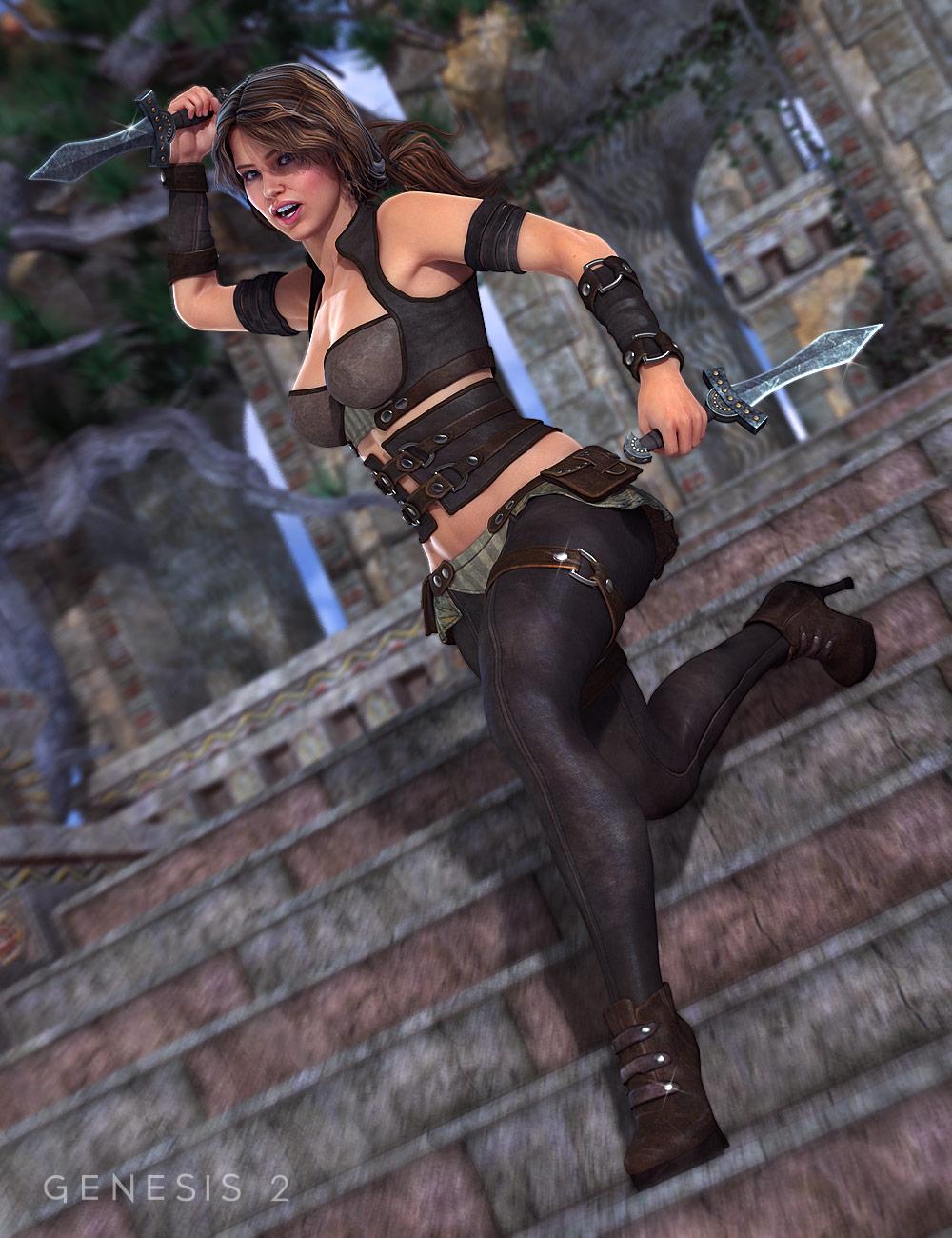 Defender for Genesis 2 Female(s) by: , 3D Models by Daz 3D