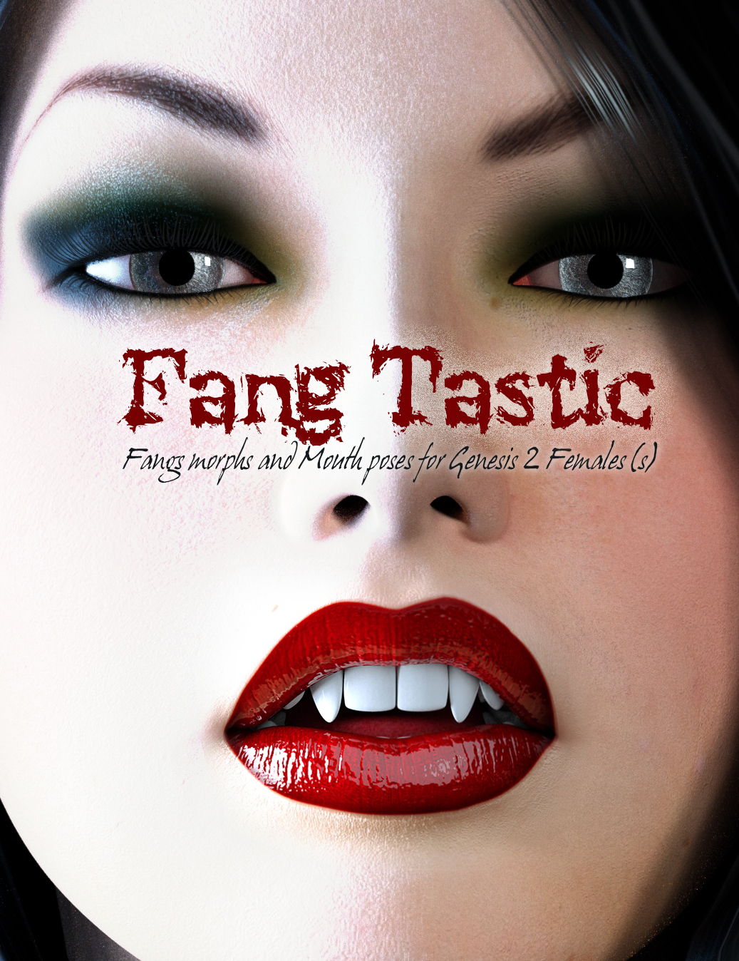 FangTastic for Genesis 2 Female(s) by: Cake One, 3D Models by Daz 3D