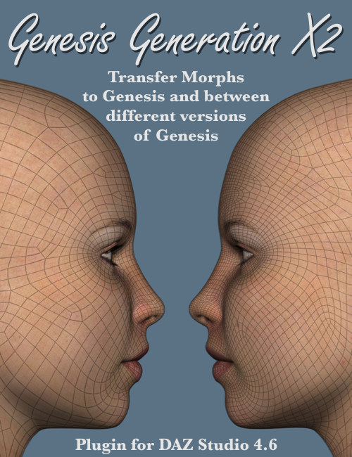 Genesis Generation X2 by: Dimension3D, 3D Models by Daz 3D