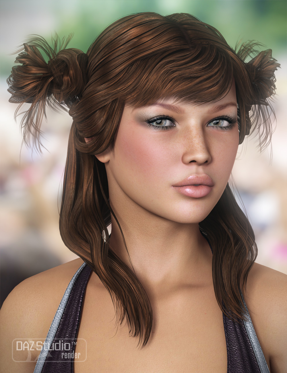 Innocent Hair by: goldtassel, 3D Models by Daz 3D
