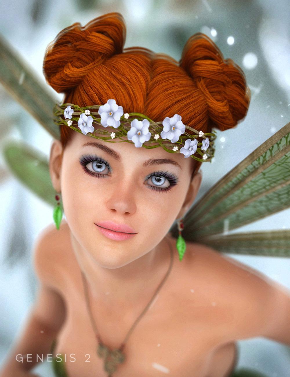 Bloomingwood Hair by: EmmaAndJordi, 3D Models by Daz 3D