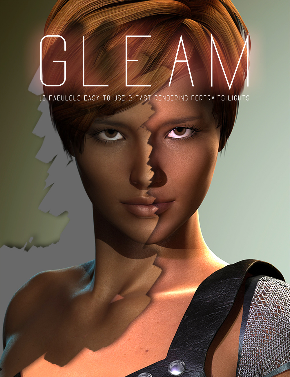Gleam by: Cake One, 3D Models by Daz 3D