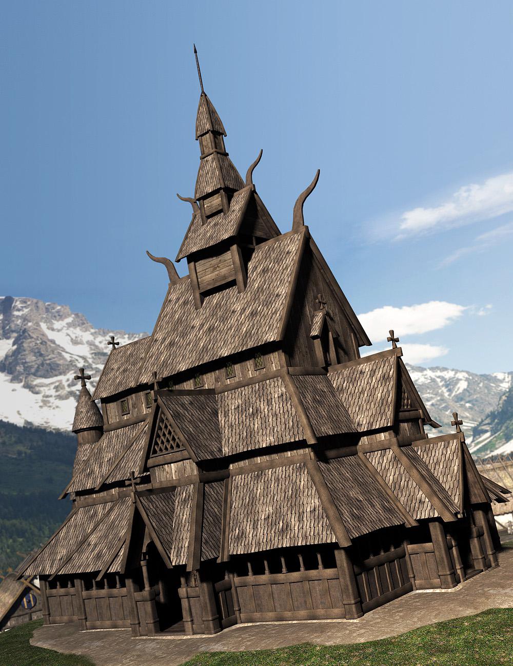 Viking Village Bundle by: Faveral, 3D Models by Daz 3D