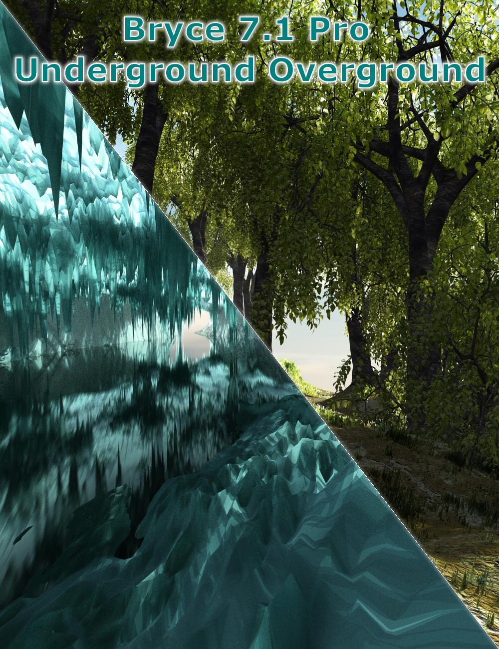 Bryce 7.1 Pro - Underground Overground by: David BrinnenHoro, 3D Models by Daz 3D