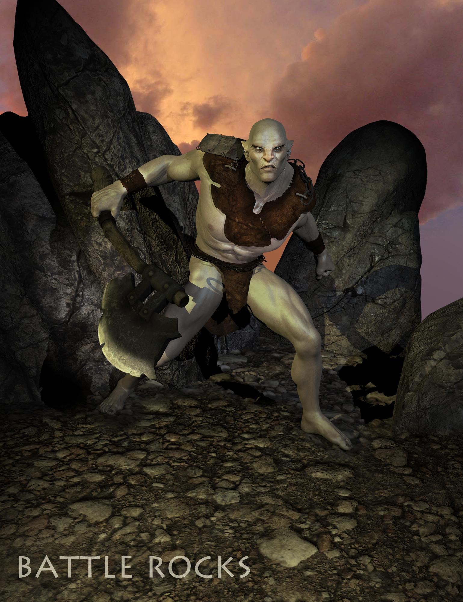 Battle Rocks by: The AntFarm, 3D Models by Daz 3D