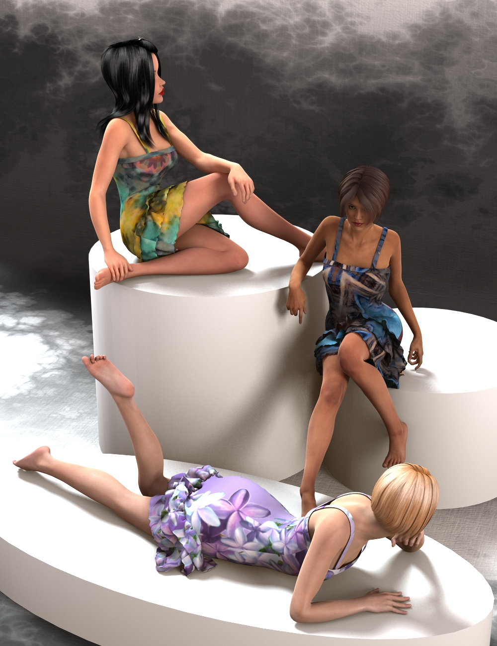 Sweet-n-Sassy for Genesis 2 Female(s) by: Aave Nainen, 3D Models by Daz 3D
