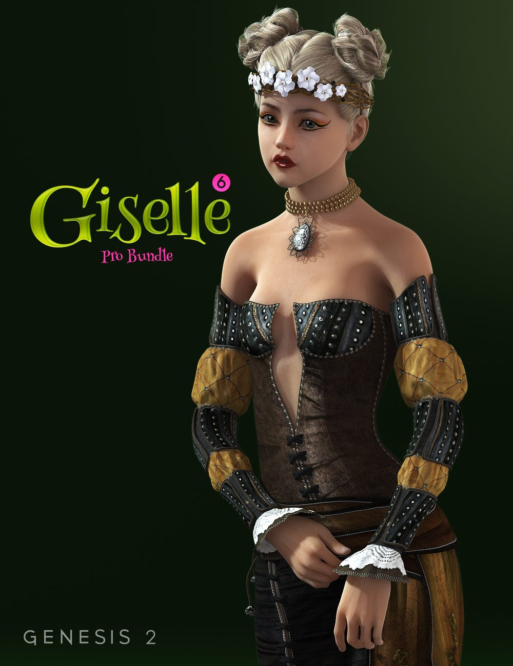 Giselle 6 Pro Bundle by: , 3D Models by Daz 3D