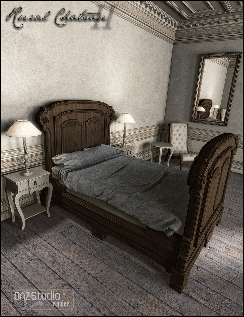 Rural Chateau II by: Jack Tomalin, 3D Models by Daz 3D
