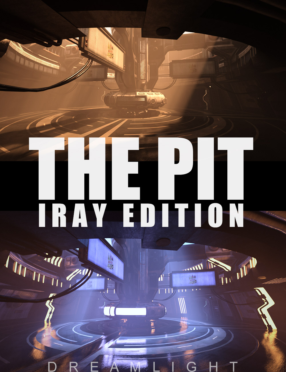 The Pit - Iray Edition by: Dreamlight, 3D Models by Daz 3D