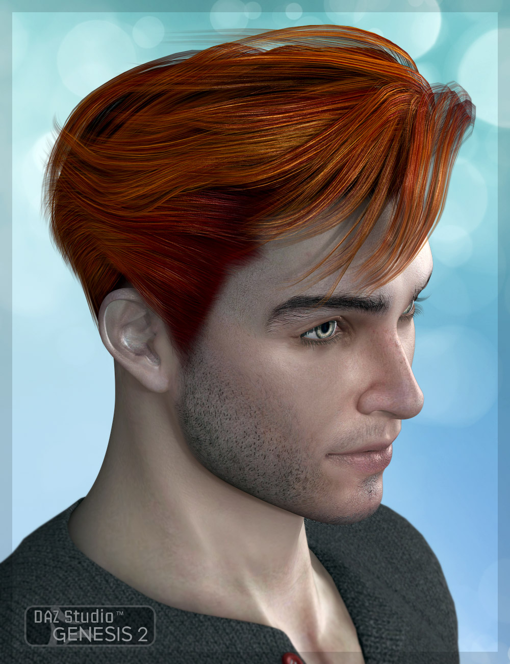 Rievel Hair 2 by: AprilYSH, 3D Models by Daz 3D