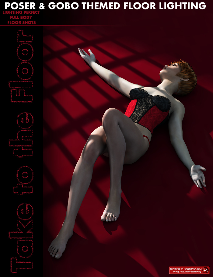 Take to the Floor Poser Gobo Lighting by: ForbiddenWhispers, 3D Models by Daz 3D
