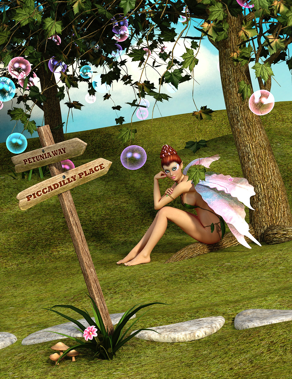 The Enchanted Glade by: ARTCollaborations, 3D Models by Daz 3D