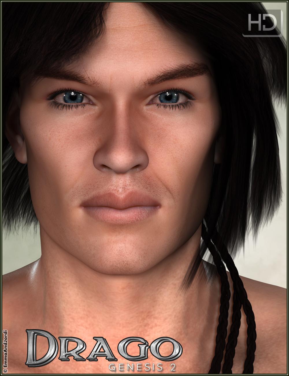 EJ Drago HD for Gianni 6 by: EmmaAndJordi, 3D Models by Daz 3D