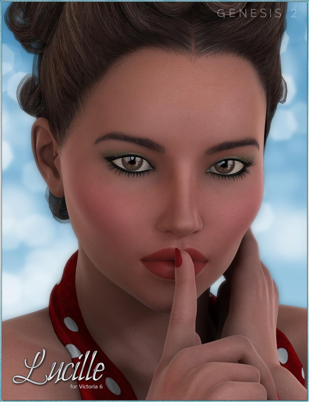 FW Lucille by: Fred Winkler Art, 3D Models by Daz 3D
