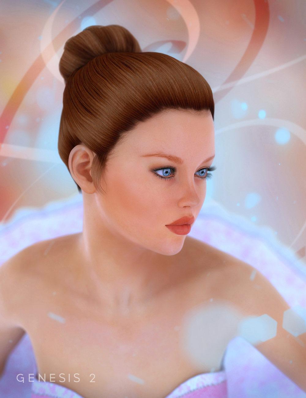 Ballet Bun by: , 3D Models by Daz 3D