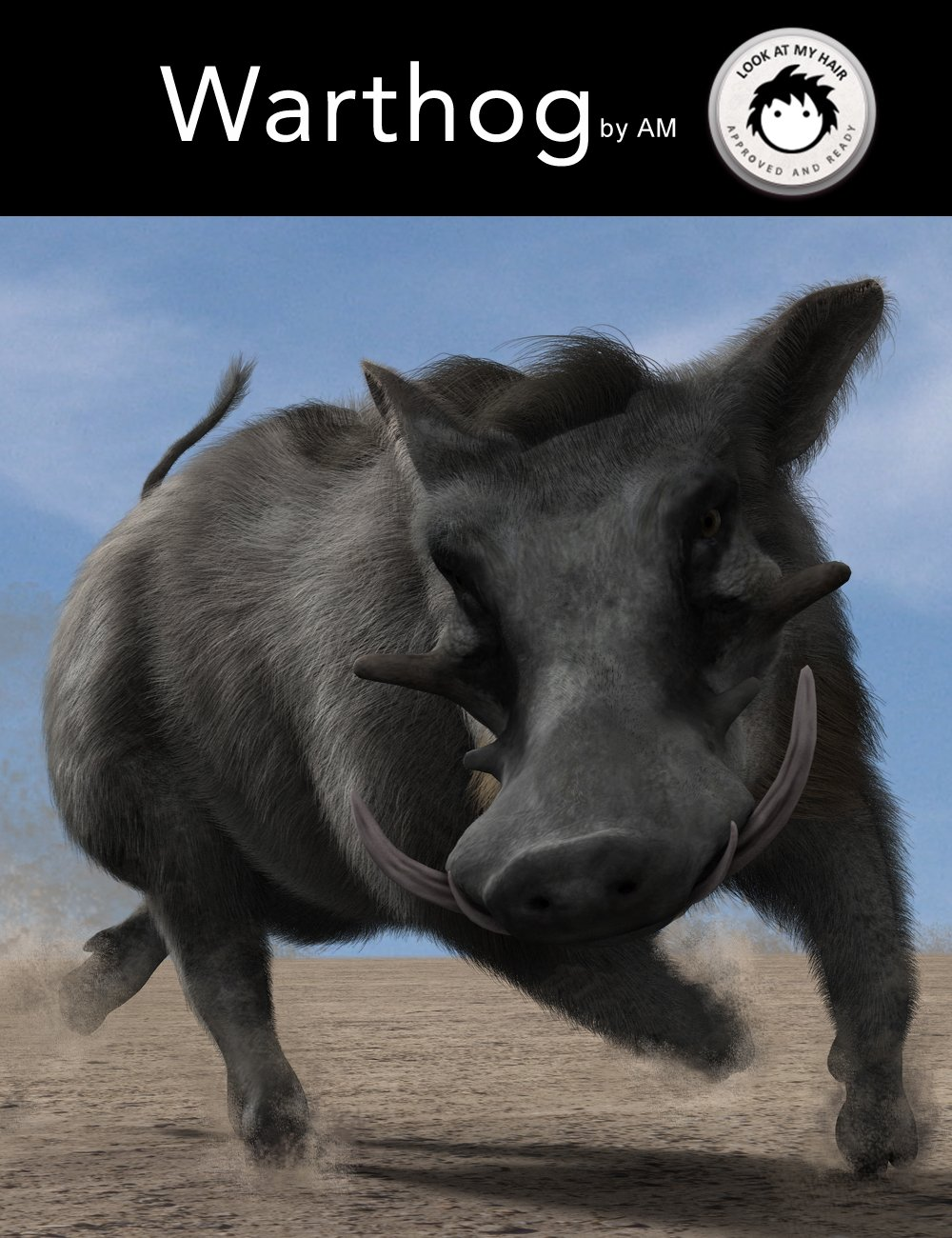 Warthog by AM by: Alessandro_AM, 3D Models by Daz 3D